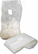 """Mushroom spore and fruiting  grow  bags with hepa filters.5 micron 50 count """"B"""""""