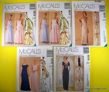 McCalls EVENING ELEGANCE Misses Lined Gowns Top Skirt Stole NEW Uncut