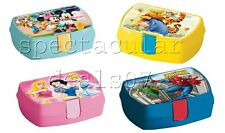 Kids Disney Lunch Picnic Travel School Trip Nursery Playgroup Sandwich Box
