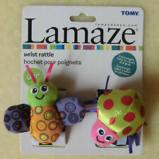 NEW LAMAZE Wrist Rattle Watches- Infant Baby play Development Toys