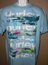 nwt! mens Hurley t-shirt light blue SUPER NICE!!!