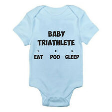 BABY TRIATHLETE - Sports / Novelty / Humorous / Fun Themed Baby Grow / Suit