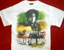 New Licensed Bob Marley Redemption Song Adult T-Shirt S M L XL XXL