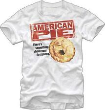 New Licensed American Pie Your First Piece Adult T-Shirt S M L XL XXL