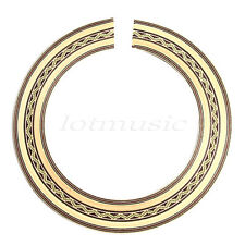 New Guitar Rosette Inlay Soundhole Ring, Different colors and patterns to choose
