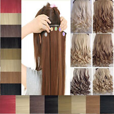 Long Straight/Wave Hair Extension Clip in Hair Extensions heat resistant 2013 K6