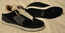 DIAMOND Supply Co. MARQUISE  Mens Shoes (NEW w/ FREE SHIP) Black & White Leather