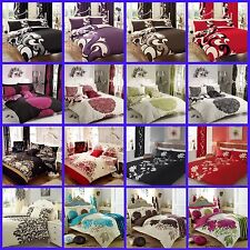 New 3PCs Duvet Cover Pillow Cases Quilt Cover Bedding Set In Single Double King