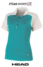 Head Valentina Polo Shirt TURQUOISE - Varied Sizes - Great Product - Low Price