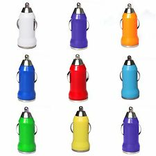 New Mini Bullet USB PORT CAR CHARGER IPHONE 3G/3GS/4/4G/4S IPOD SAMSUNG Colors