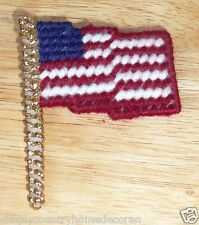 FLAG PINS & MAGNETS~Handcrafted~Colors Vary~NEW~FREE SHIP