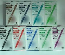 Pentel Energel 0.7mm Retractable Gel Roller Pen x 12 pcs #BL77  FREE SHIPPING