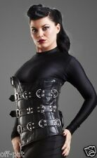 Very Sexy Butter Soft Lambs Leather Underbust Steel Boned Corset