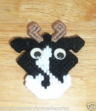 COW MAGNETS~Handstitched & Handcrafted~Designs Vary~NEW~FREE SHIP