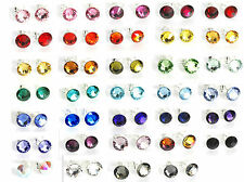 7mm Crystal Studs Made With SWAROVSKI ELEMENTS Handmade Earrings With Box & Bag