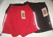 Women's Mt. Borah Bicycle Sport Shorts Red or Black Small Medium Large