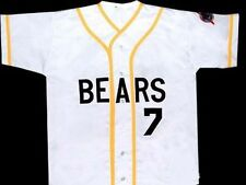BAD NEWS BEARS #7 MOVIE JERSEY BUTTON-DOWN SEWN NEW ANY SIZE XS - 5XL