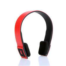 Bluetooth 3.0 EDR 2.4G Wireless Cordless Headset Headphone Mic For iPhone Tablet
