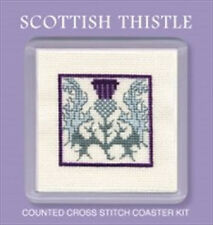 Textile Heritage Counted Cross Stitch Coaster Kits