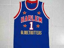 "LARRY ""SHORTY"" COLEMAN HARLEM GLOBETROTTERS JERSEY BLUE NEW ANY SIZE XS - 5XL"