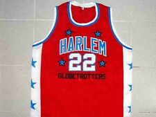 """FRED """"CURLY"""" NEAL HARLEM GLOBETROTTERS JERSEY RED NEW ANY SIZE XS - 5XL"""