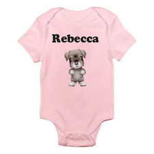 PERSONALISED NAMED CUTE DOG - Animal / Boy / Girl / Fun Themed Baby Grow/Suit