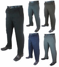 """Mens Big Size Casual/Formal Trousers/Pants Legs 27""""29""""and 31"""" Waist 30-62"""