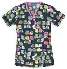 Cherokee Scrubs Owl Be There Scrub Top 4826C OWBE