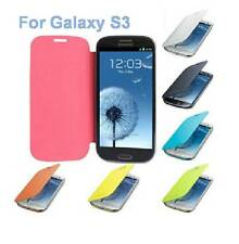 Brand New PU Leather Flip Case Battery Cover for Samsung Galaxy S III S3 i9300