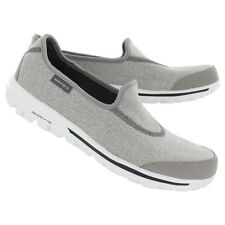 SKECHERS Womens GO WALK Gray Grey walking comfort shoes 13510 GRY