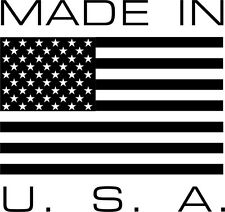 Made in USA Vinyl Decal Sticker Car Window Wall Printed