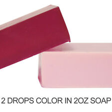 Strawberry Red Liquid Color Dye (in MP Soap, Lotions, bath salts and fizzies)