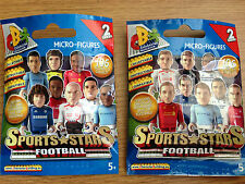 Character Building Season 13/14 Sports Stars Football Micro Figures Series 2 NEW