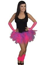 Neon Pink & Purple 80's Fancy Dress Costume Baby Toddler Kids 1980's Night Out