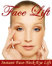 *NEW INSTANT FACELIFT AND NECKLIFT FACE NECK LIFT KIT TAPES ANTI AGEING STRIPS*