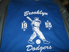 Brooklyn Dodgers 1955 World Series Tee Shirt New