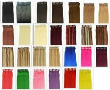 """Hot Sale Remy 20"""" 6Pcs 100% Real Human Hair Clip In Extensions,30g,More Colors"""