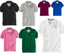 NWT Aeropostale Men Short Sleeve Polo Shirt S M L XL