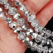Cheap wholesale various colors 6x8mm crystal beads 72pc  Z.02- Free Shipping