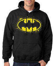 BATMAN HOODIE Hooded Sweatshirt Joker Robin Dark Knight Rises Bane Symbol DC USA