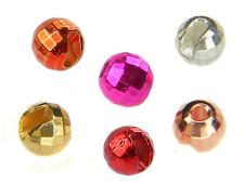 Tungsten Beads - Reflex slotted for jig hooks / 6 colors / 10pcs. per pack