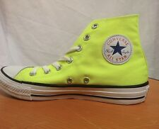 Brand New Converse Chuck Taylor All Star Electric Yellow High Tops Size 4-13