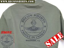USMC RECON T-SHIRT/ FORCE RECON/ OFFICIAL SHIRTS OCEANSIDE, CA./ MILITARY/  NEW