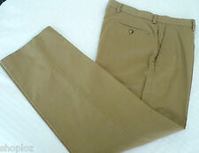 Mens  Ex M&S Cotton Trousers Sand Older Stock New
