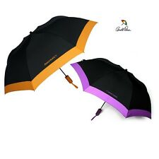 Designer Compact 2 Folding Wind proof Auto open close Rain Umbrella Orange Color