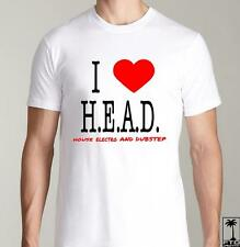 HEAD EDM EDC HARDFEST RAVE CONCERT DJ CLUB DUBSTEP ELECTRO HOUSE T SHIRT