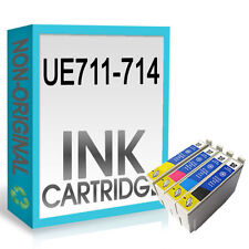 UCI BRAND INK CARTRIDGES REPLACE FOR T0715 -T0711 T0712 T0713 T0714