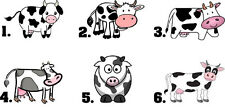 Waterslide Nail Decals Set of 20 - Cow - you choose