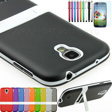 Hybrid Combo TPU Back Stand Case Cover Skin For Samsung Galaxy S4 SIV i9500