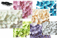 Flowers Hydrangea Veined Various Colors Set Wedding sugar cake cupcake toppers